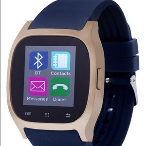 Accessories - ITouch 3360 smart watch Unisex Black Rubber Strap